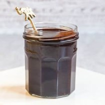 2 ingredient vegan chocolate sauce