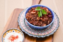 3 bean chocolate chilli
