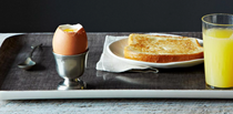 6-minute soft-boiled egg with magic spice blend