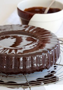 A wonderfully rich chocolate cake