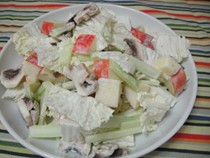 All-white salad (Cook the Book)