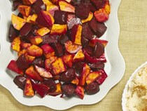 Ancho beets and sweet potatoes