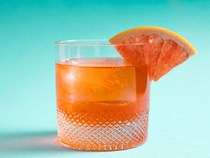 Aperol, Lillet, and gin cocktail - Unusual Negroni