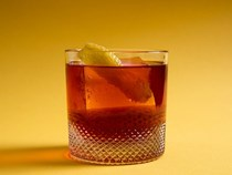 Apple brandy Negroni (Mela d'Alba)