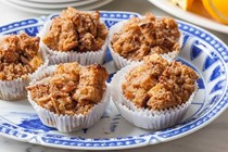 Apple-cinnamon French toast muffins