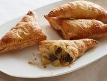 Apple dried cherry turnovers