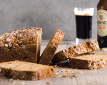 Apple Guinness cheddar soda bread