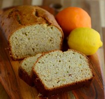 Applesauce citrus bread