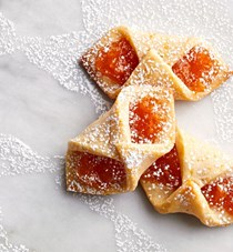 Apricot and orange blossom kolacky
