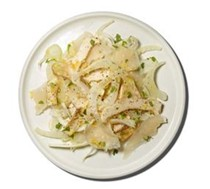 (Artichokes with) fennel and Parmesan