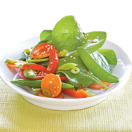 asian pea salad