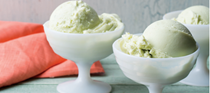 Avocado-lime frozen yogurt