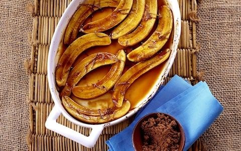 Baked Bananas With Rum And Brown Sugar Recipe Eat Your Books