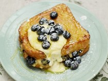 Banana & blueberry French toast