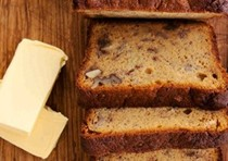 Banana walnut golden syrup loaf