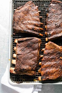 BBQ oven ribs