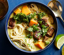 Beef & sweet potato coconut curry