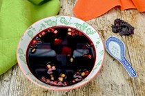 Beetroot miso soup