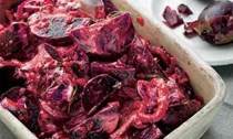 Beetroot, yoghurt and preserved lemon relish
