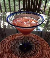 Beranbaum's best blood orange margarita