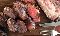 Big bad beef ribs (smoked salt-and-pepper beef plate ribs)