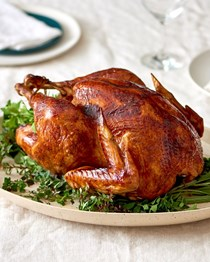 Black pepper & maple roast turkey