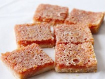 Blood orange squares