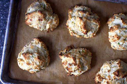 Blue Cheese Scallion Drop Biscuits Recipe Eat Your Books