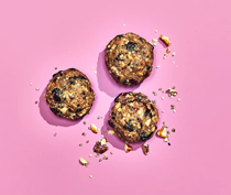 Blueberry-pecan energy balls
