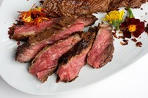 Brown sugar-chili flank steak