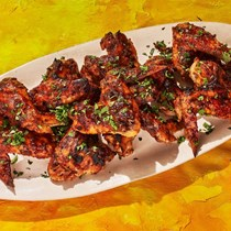 Burnt masala wings