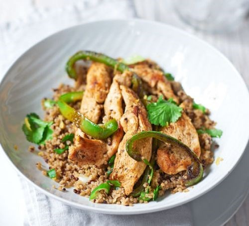 Cajun spiced chicken with quinoa recipe eat your books view larger forumfinder Image collections