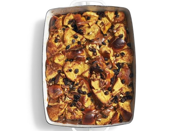 Dessert recipes eat your books caramel bread pudding from food network forumfinder Images