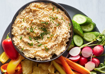 Caramelized onion & butternut squash dip
