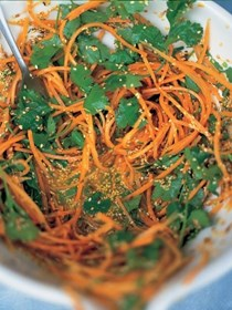 Carrot and cilantro treat for all