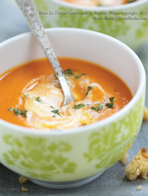 Red Lentil And Carrot Soup With Coconut Recipe — Dishmaps