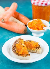 Carrot jam with parsnip