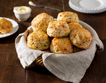 Cheddar-onion biscuits