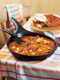 Cheesy chili