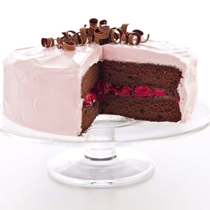 Cherry-chocolate cake
