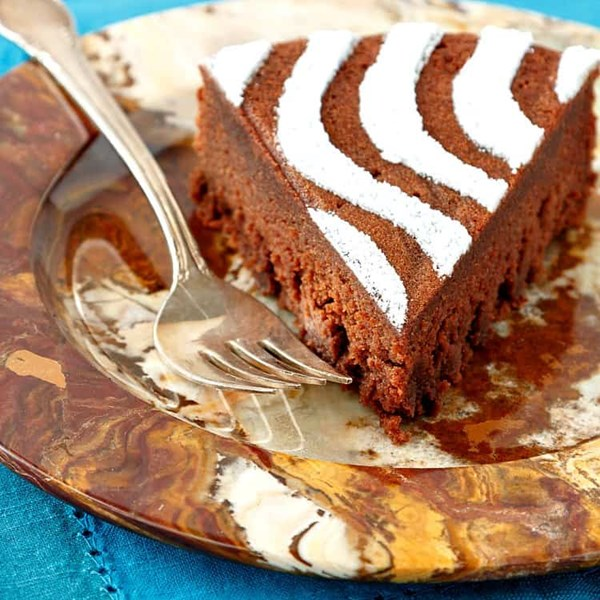 Chestnut chocolate torte