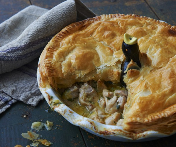Chicken And Leek Pie View Larger