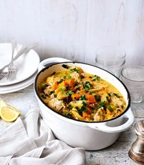 Chicken and vegetable casserole