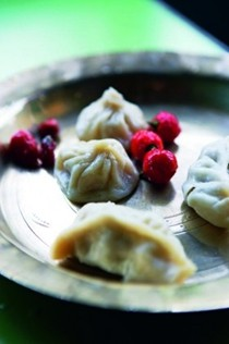 Chicken dumplings (Momos)