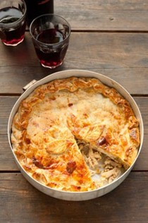 Chicken pie (Pasticcio di pollo)