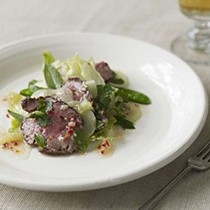 Chilli beef with lime and palm sugar dressing
