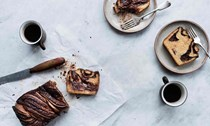 Chocolate, cinnamon and pecan babka