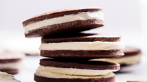 Chocolate crème sandwich cookies