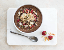 Chocolate dreams protein smoothie bowl