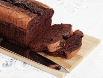 Chocolate pound cake (Quatre-quarts au chocolate)